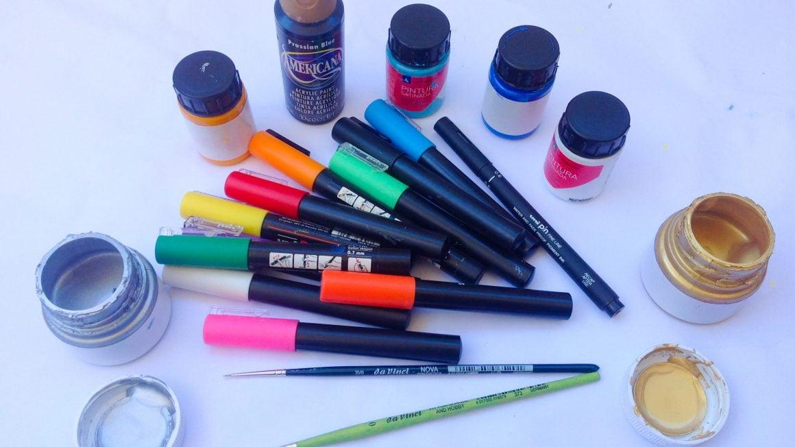 مواد نقاشی