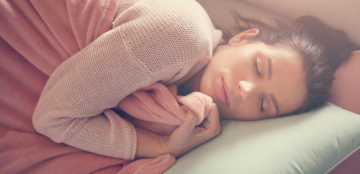 به پهلو خوابیدن