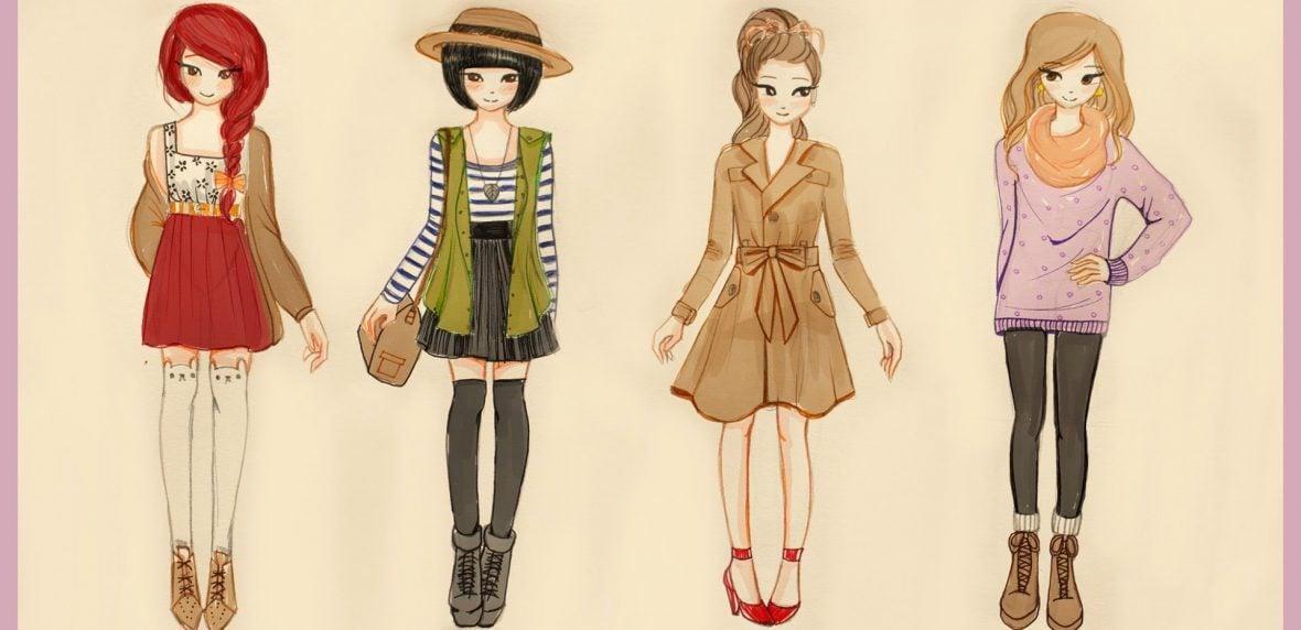 نحوه لباس پوشیدن در فصل پاییز