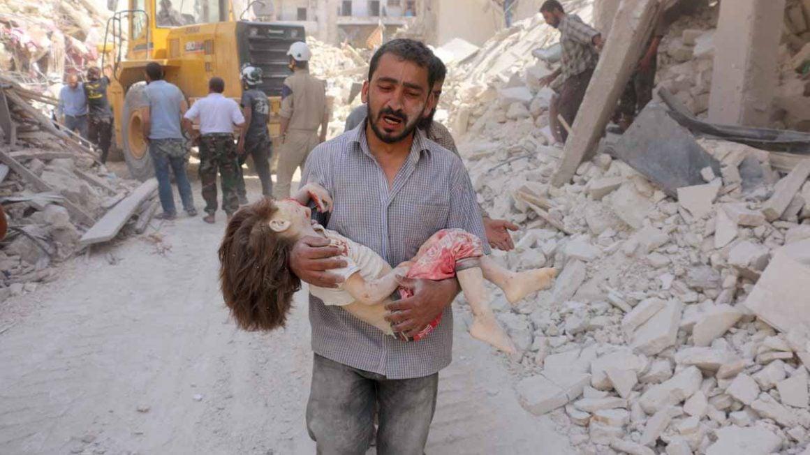 تاثیر جنگ بر کودکان