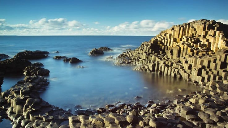 The GIANTS CAUSEWAY در ایرلند