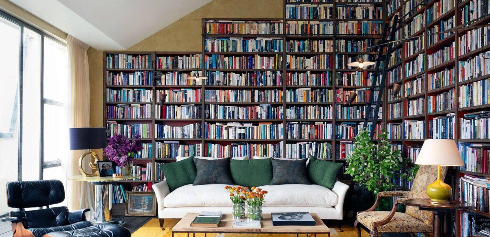ایدههایی جذاب از طراحی قفسه کتاب برای علاقهمندان به کتاب