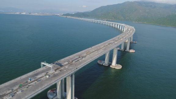 بلندترین پل دریایی جهان