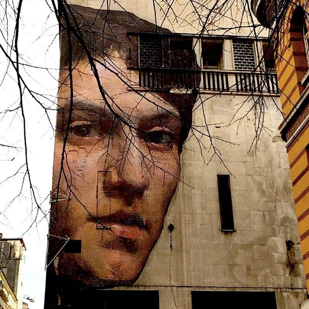 نقاشی در دیوارهای دنیا