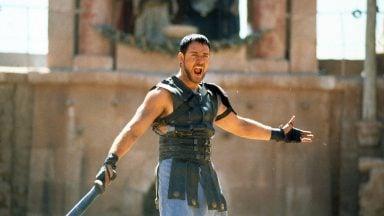 راسل کرو در نقش ماکسیموس- گلادیاتور 2