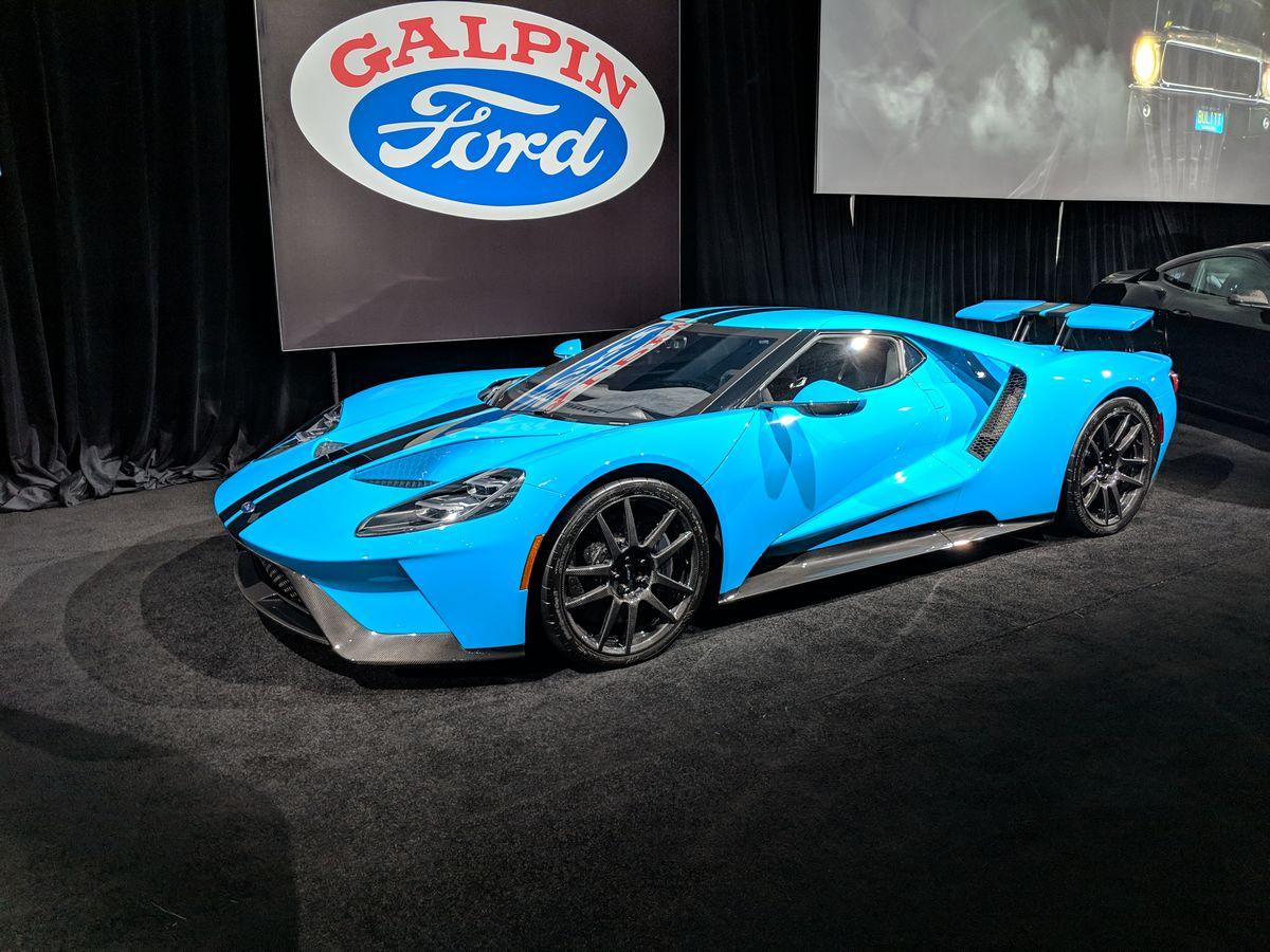 JORDAN MARON'S MIAMI BLUE FORD GT