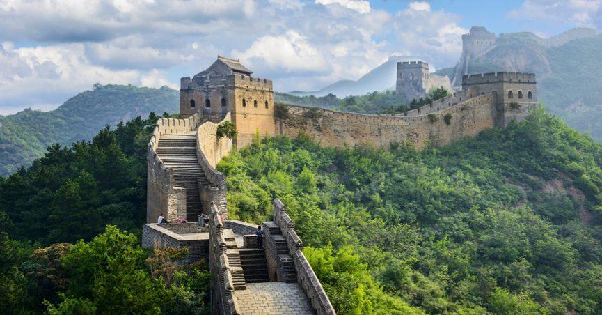 مسیر دیوار چین
