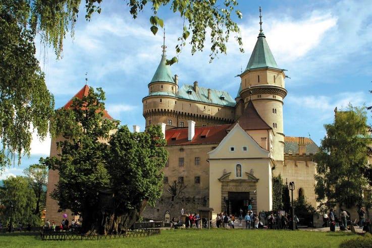 قلعه Bojnice در اسلواکی