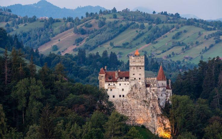 قلعه Bran در رومانی