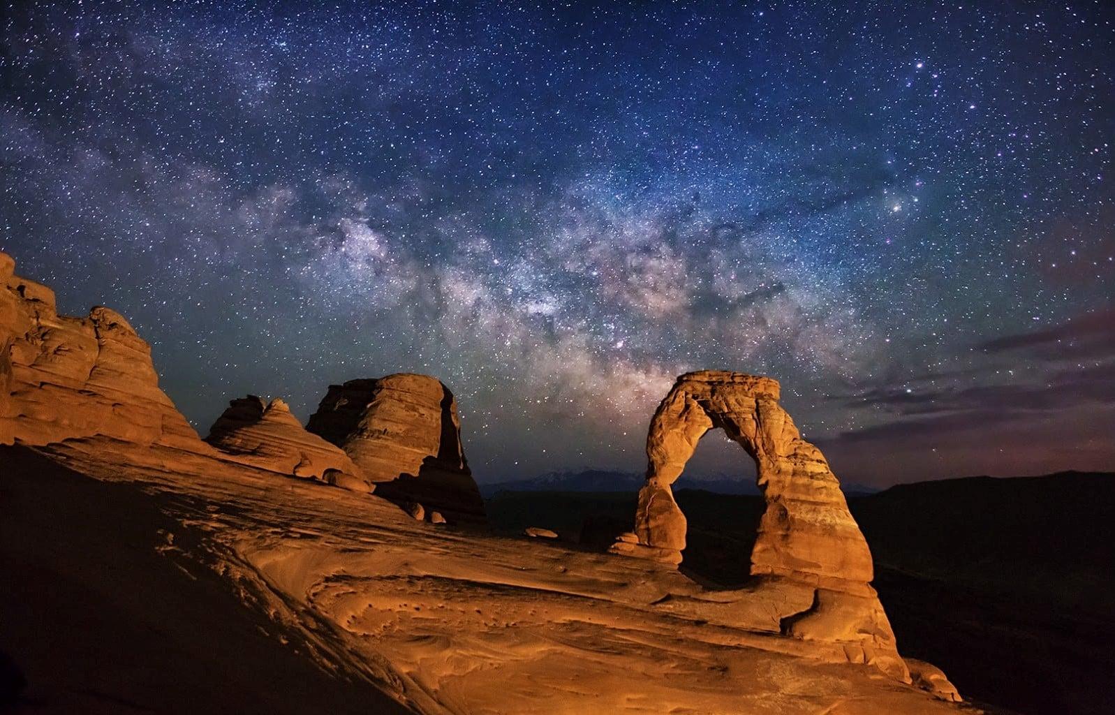 پارک ملی آرچز-منطقه رصد ستارهای