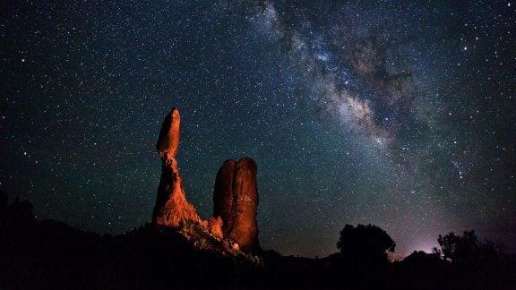 پارک ملی آرچز گواهینامه پارک آسمان تاریک بینالمللی را دریافت کرد
