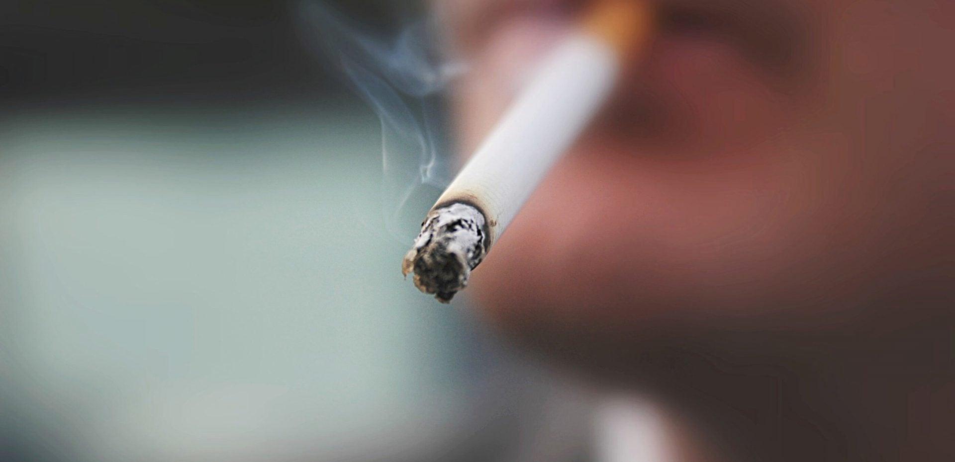 بیشترین مصرف سیگار