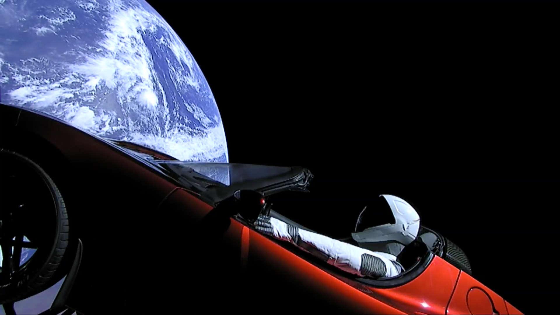 آزمایش شناور رودستر تسلا-تصویری از آینده