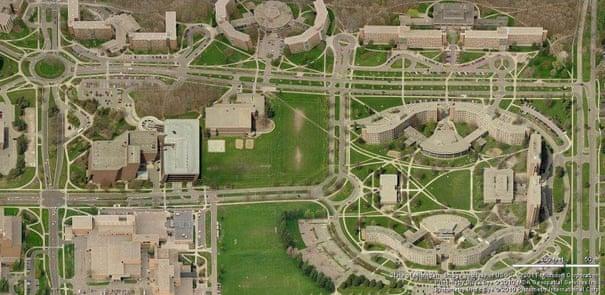 خطوط حرکتی دلخواه-تصویر Google Maps