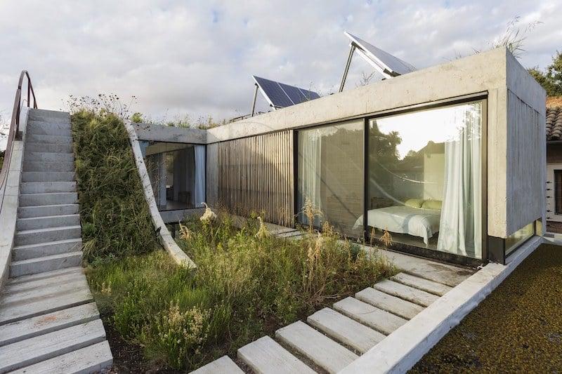 طراحی مدرن خانه-Vertical Garden House
