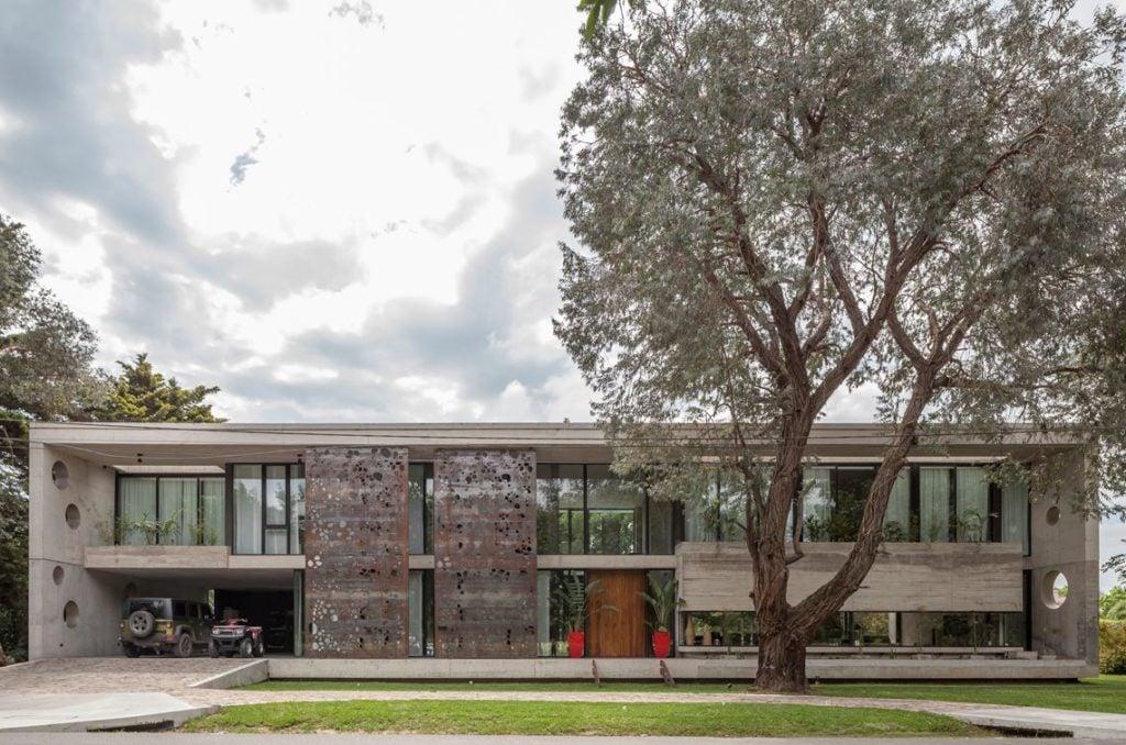 طراحی مدرن خانه-Modern Materials