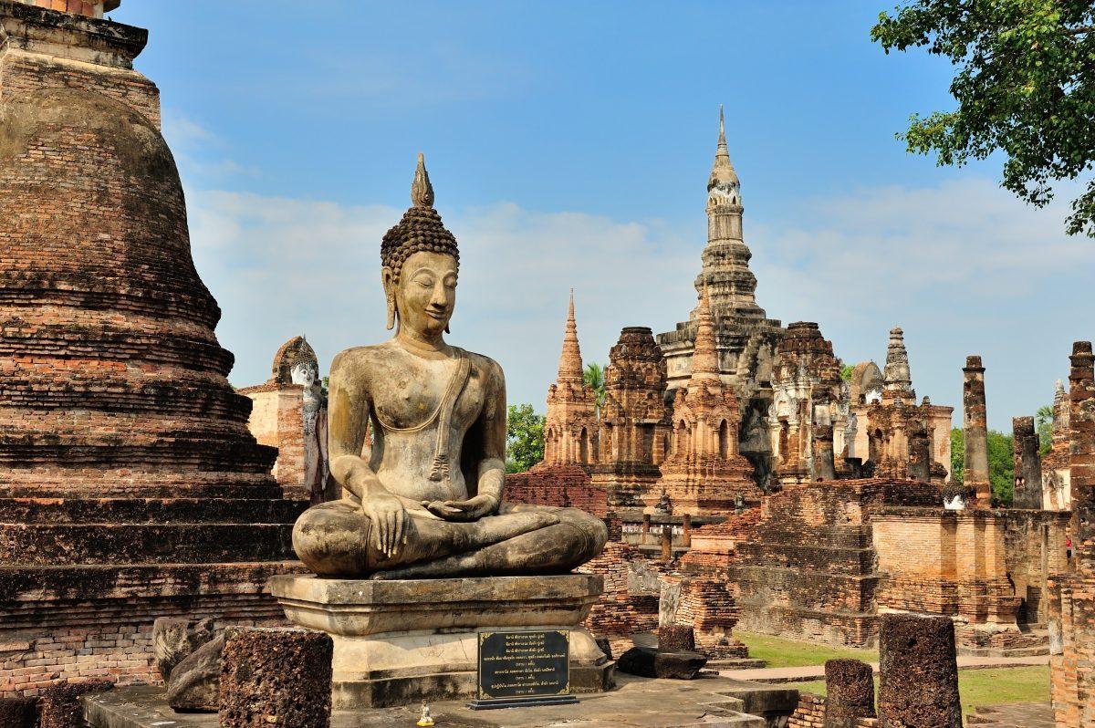 فرار از جمعیت تایلند-تاریخ: Bang Khlang در پارک تاریخی سوخوتای