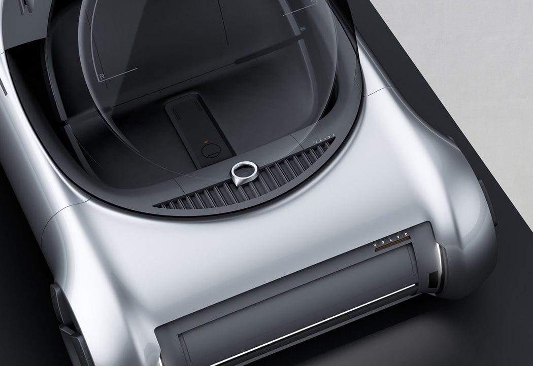 نمای داخلی خودرو خلاقانه Volvo PV
