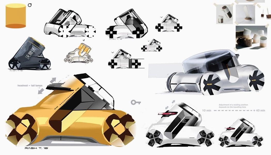 روند طراحی و ایدهپردازی خودرو خلاقانه Volvo PV