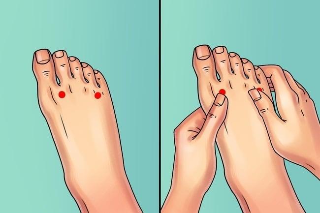 حرکت ویژه فهرست 6 نرمش ضد درد پا
