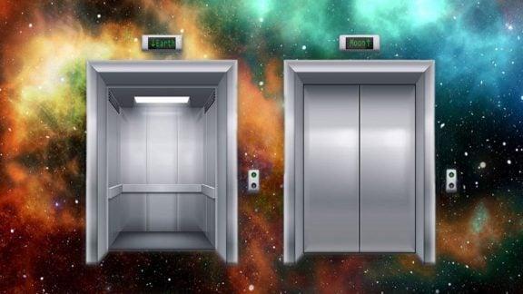 ساخت آسانسور به ماه: پیشنهاد ارائه شده طرحی معقول از سوی دانشمندان