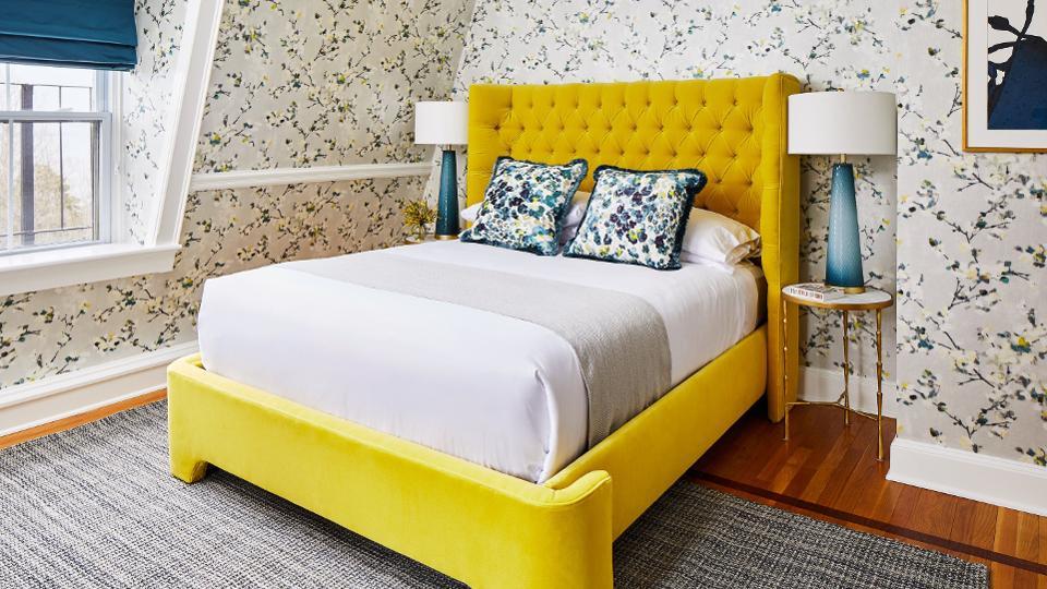 اتاق خواب ساحلی توسط طراحان داخلی Rachel Reider