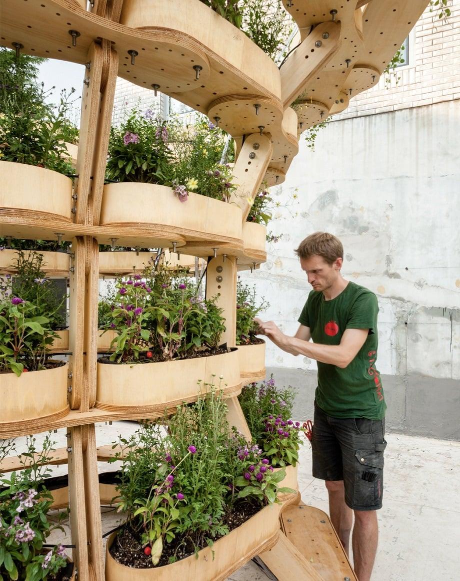 باغچه مدولار هنرمندانه و قابلیت گسترش