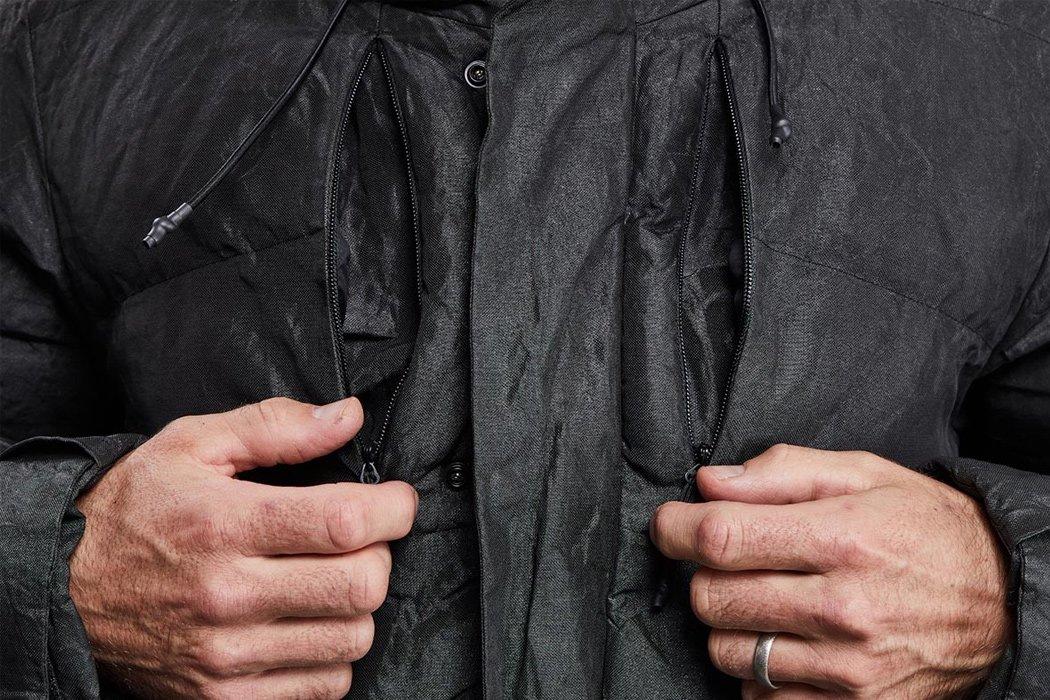 دو جیب قفسه سینه نامرئی