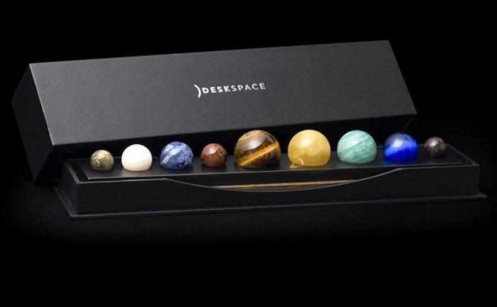 جعبه مجموعه دکوری رومیزی منظومه شمسی