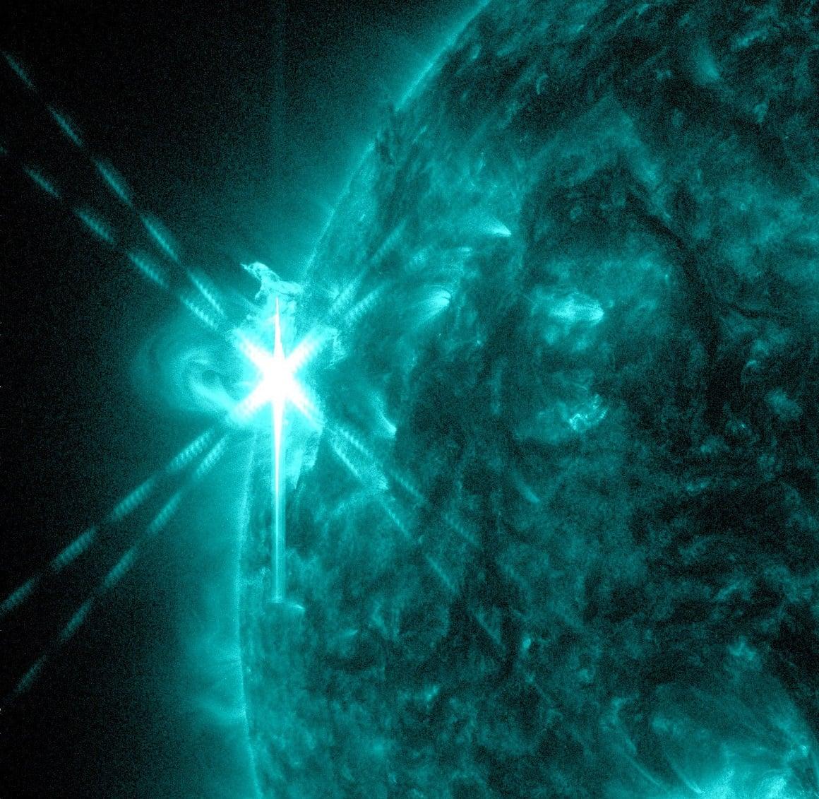 پارکر کاوشگر خورشیدی - شعلههای خورشیدی