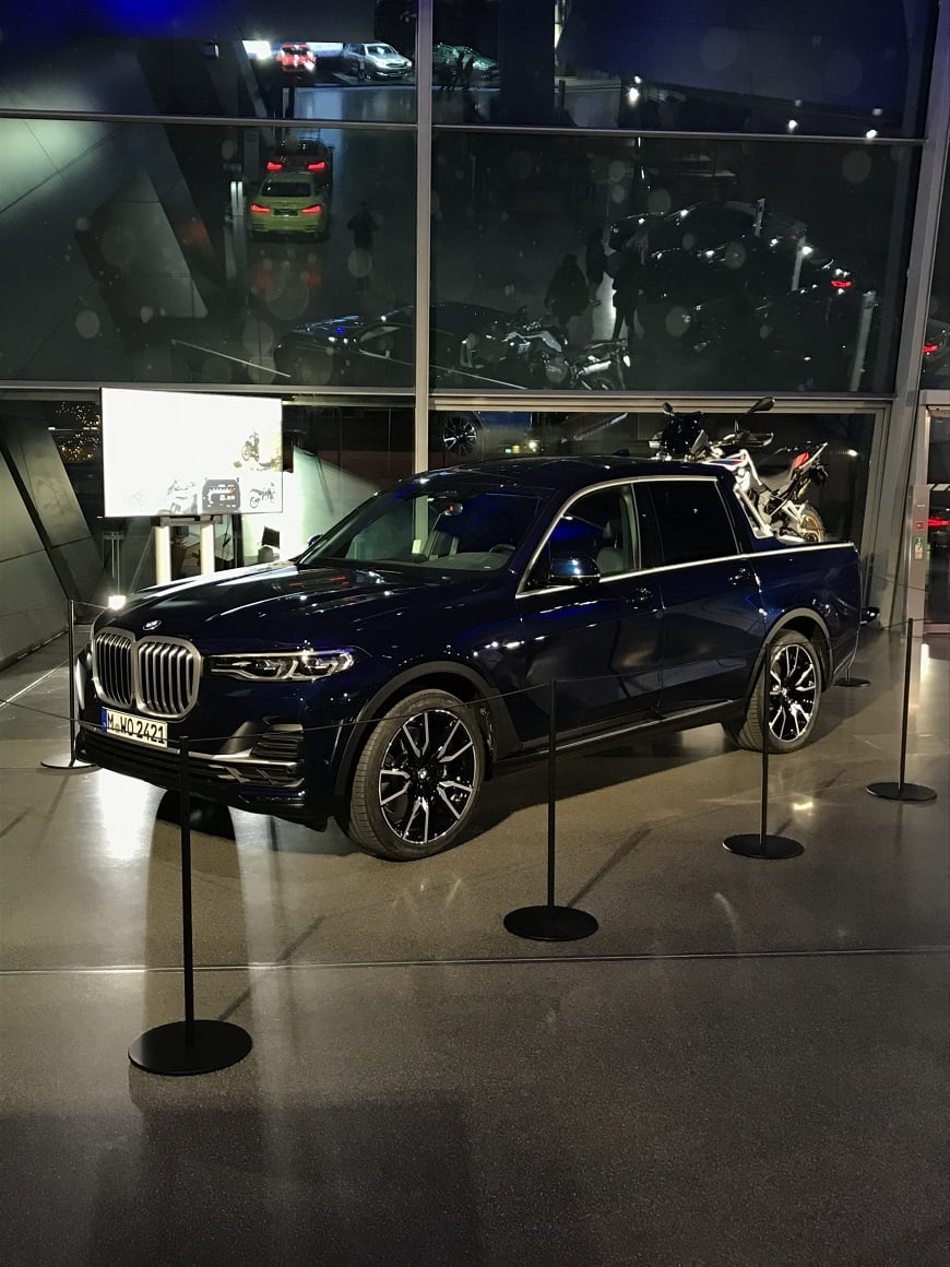 طرح مفهومی وانت BMW