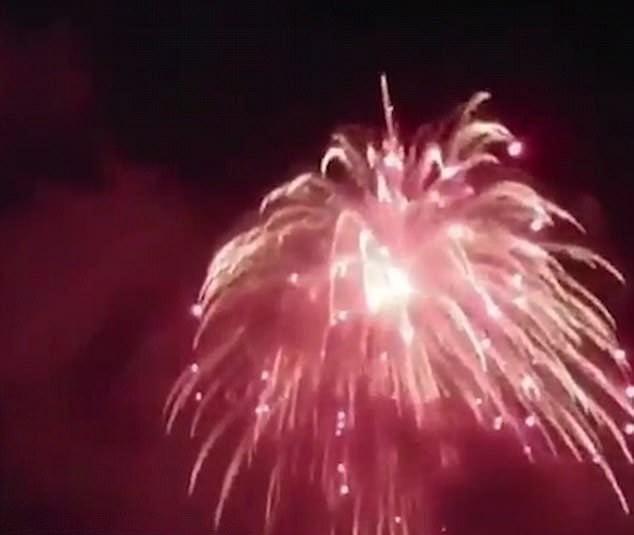 انفجار در آسمان شب کلرادو