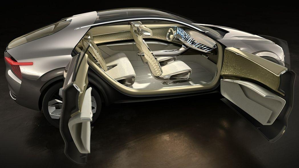 مدل مفهومی Kia Imagine - درهای خودکشی
