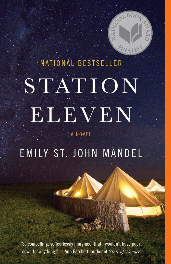 16 رمان درباره شیوع جهانی - 8. ایستگاه یازده