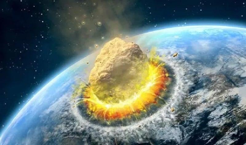 پایان تمدن بشری با برخورد سیارک 4 کیلومتری به زمین